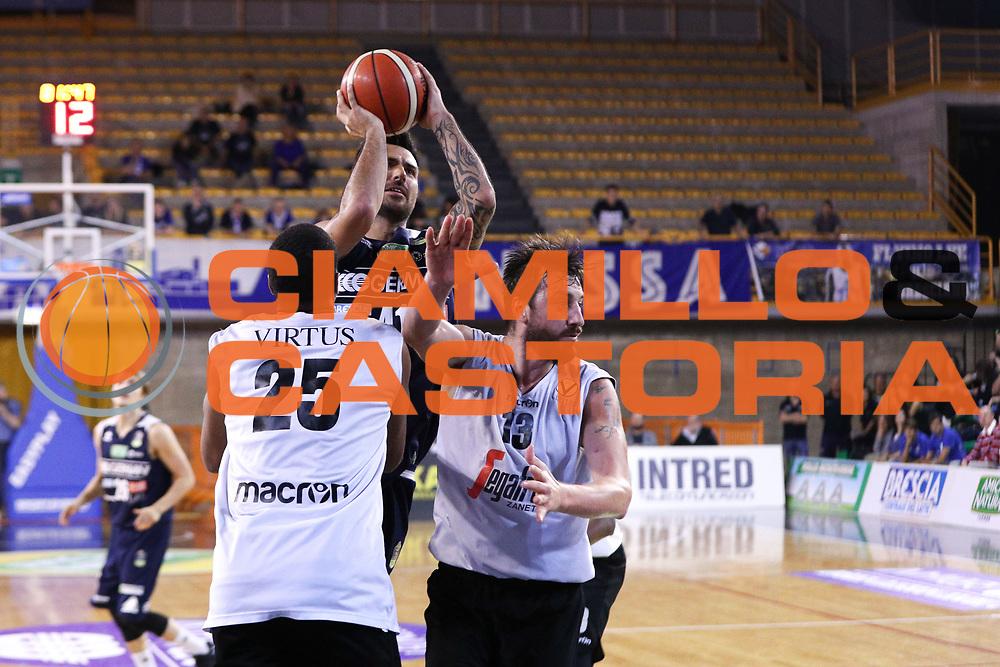 Sacchetti Brian, Germani Basket Brescia vs Virtus Segafredo Bologna, 2 edizione Trofeo Roberto Ferrari, Finale 3-4 posto, PalaGeorge di Montichiari 23 settembre 2017