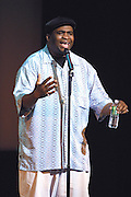 Comedian Patrice O'Neal  performed at The Gerry Red Wilson Found. Comedy Benefit to raise awareness for Spiral Meningitis at the Town Hall in New York City on June 11, 2002 as part of the Toyota Comedy Series.<br /> photo by Jen Lombardo/PictureGroup