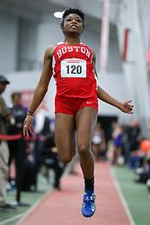 Long Jump, Boston U, Boston University Athletics<br /> Hemery Invitational Indoor Track & Field