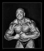 Various professional Body Builders at UK Shows..Dennis James.