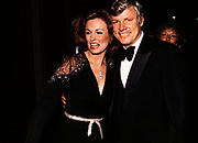 Phyllis George and Kentucky Governor John Y Brown attend an inaugural ball in 1979. Phyllis Ann George was an American businesswoman, actress, and sportscaster. She was also Miss Texas 1970, Miss America 1971, and the First Lady of Kentucky from 1979 to 1983. Ms. George died, aged 70, of complications from Polycythemia vera on May 14, 2020 in Lexington, Kentucky.