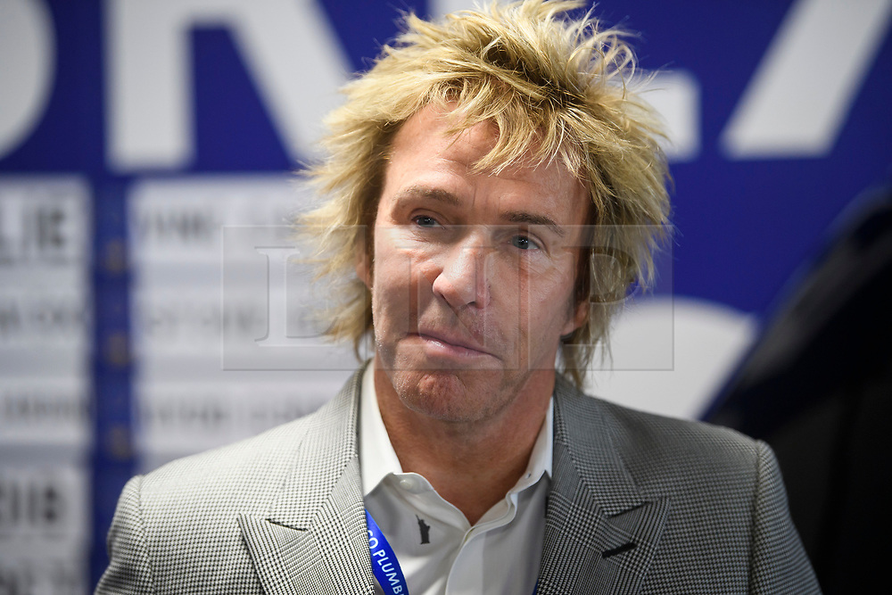 © Licensed to London News Pictures. 18/09/2018. Brighton, UK.  CHARLIE MULLINS, the millionaire founder of Pimlico Plumbers, attends the final day of the Liberal Democrat Autumn Conference in Brighton, East Sussex on September 18, 2018. This years event has been mainly focused around Brexit, the UK's departure from the EU. Photo credit: Ben Cawthra/LNP