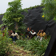 """Hundreds of university students storm the embassy grounds seeking refuge from a police advance after a 24 hour deadline to abandon the area expired earlier in the morning. The students moved to the area in early May because, they claim, the US authorities ensure their security, after their university was closed amid anti-government protests. The government closed the university at the end of April, citing """"insecurity""""."""