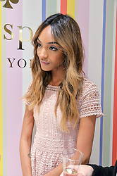 JOURDAN DUNN at the opening party of the new Kate Spade New York store at 182 Regent Street, London on 21st April 2016.