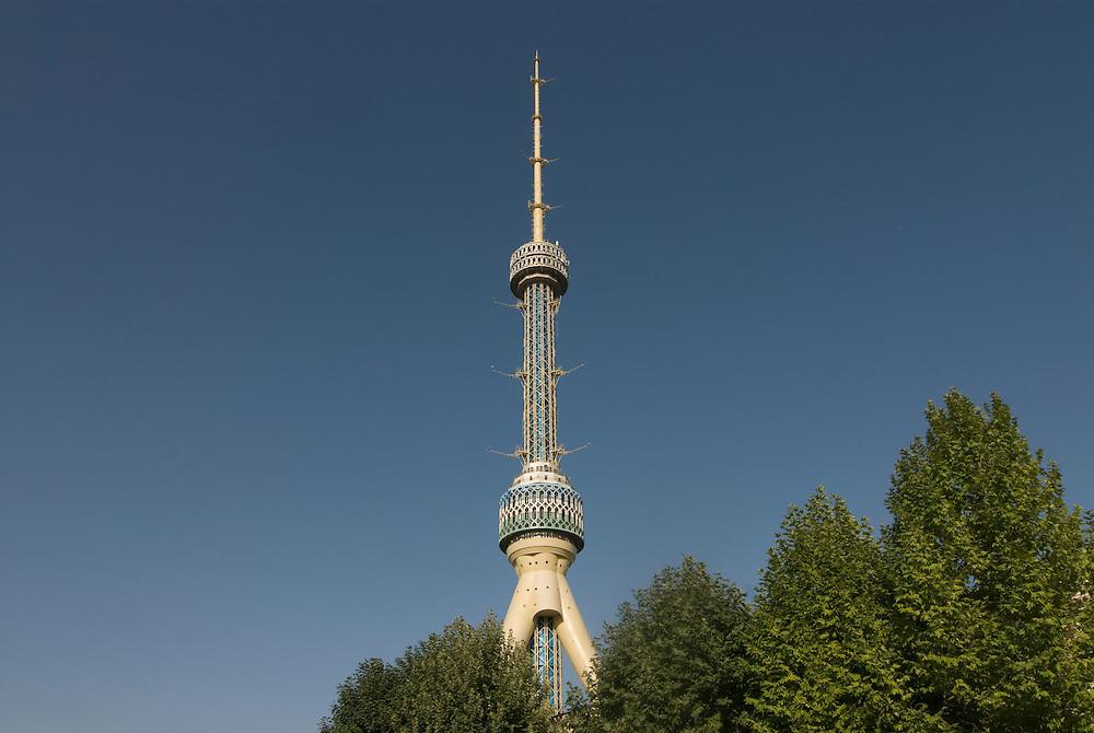 Lookout point, TV tower, Taschkent, Uzbekistan