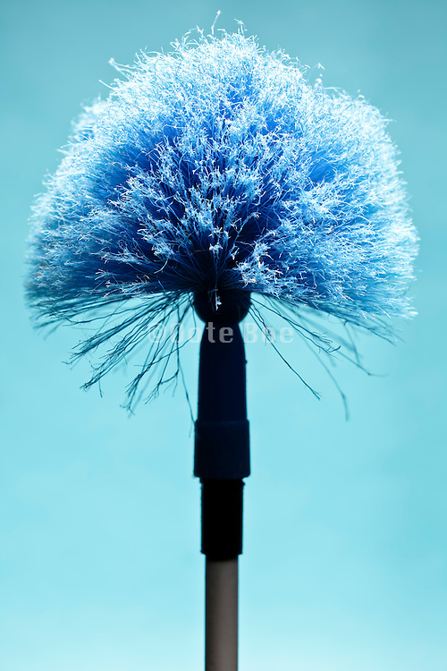 well used round duster
