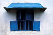 Window in corner house in Sea Street, Pettah, Colombo.<br /> Fine old Dutch window on Sea Street. Now demolished. Taken in mid 1980's.