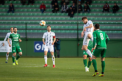 Alen Kozar of Mura Nik Lorbek of Mura Marco Da Silva of Krsko during football match between NŠ Mura and NK Domžale in 23rd Round of Prva liga Telekom Slovenije 2018/19, on March 02, 2019 in Fazanerija, Murska Sobota, Slovenia. Photo by Blaž Weindorfer / Sportida