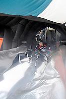 KELOWNA, CANADA, OCTOBER 11: Colton Heffley #25 of the Kelowna Rockets enters the ice as the Medicine Hat Tigers visited the Kelowna Rockets on October 11, 2011 at Prospera Place in Kelowna, British Columbia, Canada (Photo by Marissa Baecker/shootthebreeze.ca) *** Local Caption *** Colton Heffley;