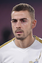 February 21, 2019 - Naples, Naples, Italy - Marco Schonbachler of FC Zurich during the UEFA Europa League Round of 32 Second Leg match between SSC Napoli and FC Zurich at Stadio San Paolo Naples Italy on 21 February 2019. (Credit Image: © Franco Romano/NurPhoto via ZUMA Press)