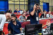 Andrea Meneghin, Mario Castelli<br /> Vanoli Cremona - Happycasa Brindisi<br /> Finale 3° Posto Zurich Connect Supercoppa LBA 2019<br /> Bari, 22/09/2019<br /> Foto L.Canu / Ciamillo-Castoria