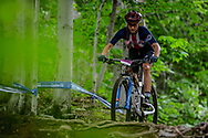 GIBSON Gwendalyn (USA) at the Women's U23 2019 Mountain Bike Cross Country World Championships in Mont-Sainte-Anne, Canada.