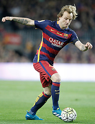 02.04.2016, Camp Nou, Barcelona, ESP, Primera Division, FC Barcelona vs Real Madrid, 31. Runde, im Bild FC Barcelona's Ivan Rakitic // during the Spanish Primera Division 31th round match between Athletic Club and Real Madrid at the Camp Nou in Barcelona, Spain on 2016/04/02. EXPA Pictures © 2016, PhotoCredit: EXPA/ Alterphotos/ Acero<br /> <br /> *****ATTENTION - OUT of ESP, SUI*****