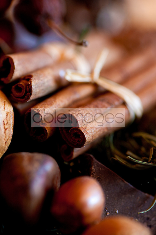 Decorative cinnamon sticks