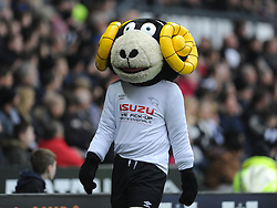 Derby Mascot Ram, Derby County v Reading, FA Cup 5th Round, The Ipro Stadium, Saturday 14th Febuary 2015