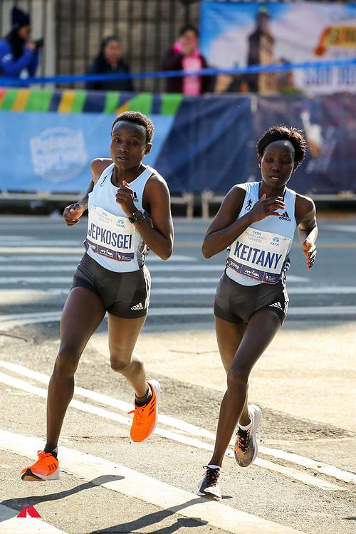 Joyciline Jepkosgei, Mary Keitany, adidas<br /> TCS New York City Marathon 2019