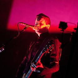 London, UK - 7 March 2013: Sigur Rós perform live at Academy Brixton.