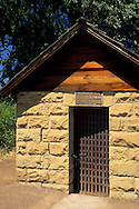 Historic old stone one-room jail, Lower Lake, Clear Lake, Lake County, California