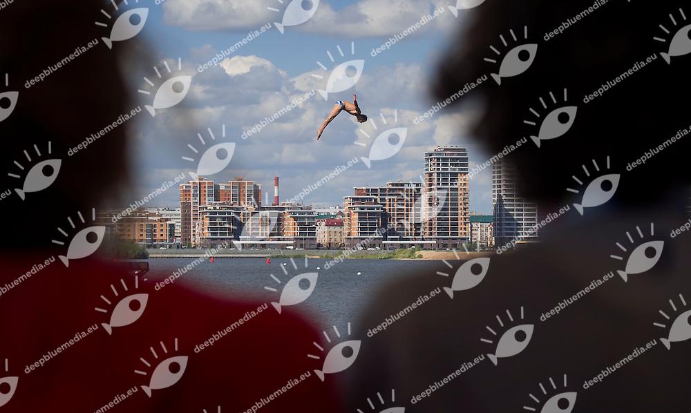 NAVRATIL Michal CZE<br /> High Diving - Men's 27m high dive preliminaries<br /> Day 11 03/08/2015<br /> XVI FINA World Championships Aquatics Swimming<br /> Kazan Tatarstan RUS July 24 - Aug. 9 2015 <br /> Photo Giorgio Perottino/Deepbluemedia/Insidefoto