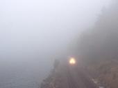 The Sounder & Carkeek Fog