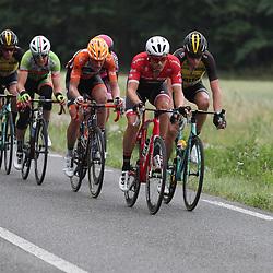 25-06-2017: Wielrennen: NK weg elite: Montferland<br />s-Heerenberg (NED) wielrennen<br />NK Wielrennen Elite  <br />Boy van Poppel, Robert Gesink. Berden de Vries