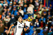 Valence's forward Andreas Pereira runs with the ball during the Spanish Championship Liga football match between Getafe CF and Valencia CF on December 3, 2017 at the Coliseum Alfonso Perez in Getafe near Madrid, Spain - Photo Benjamin Cremel / ProSportsImages / DPPI