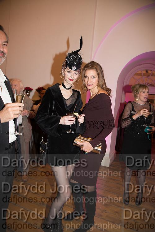 ALEXIA WIGHT; ANASTASIA ALEXANDER, Isabella Blow: Fashion Galore! private view, Somerset House. London. 19 November 2013