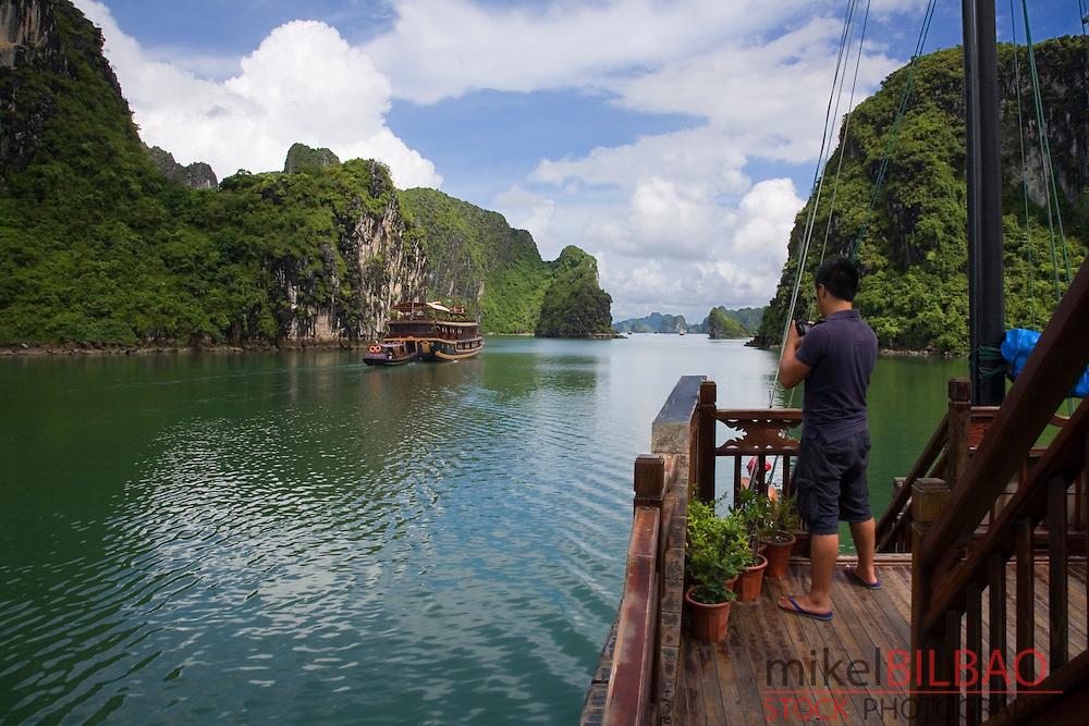 Ha Long Bay. <br /> Quang Ninh province, Vietnam.