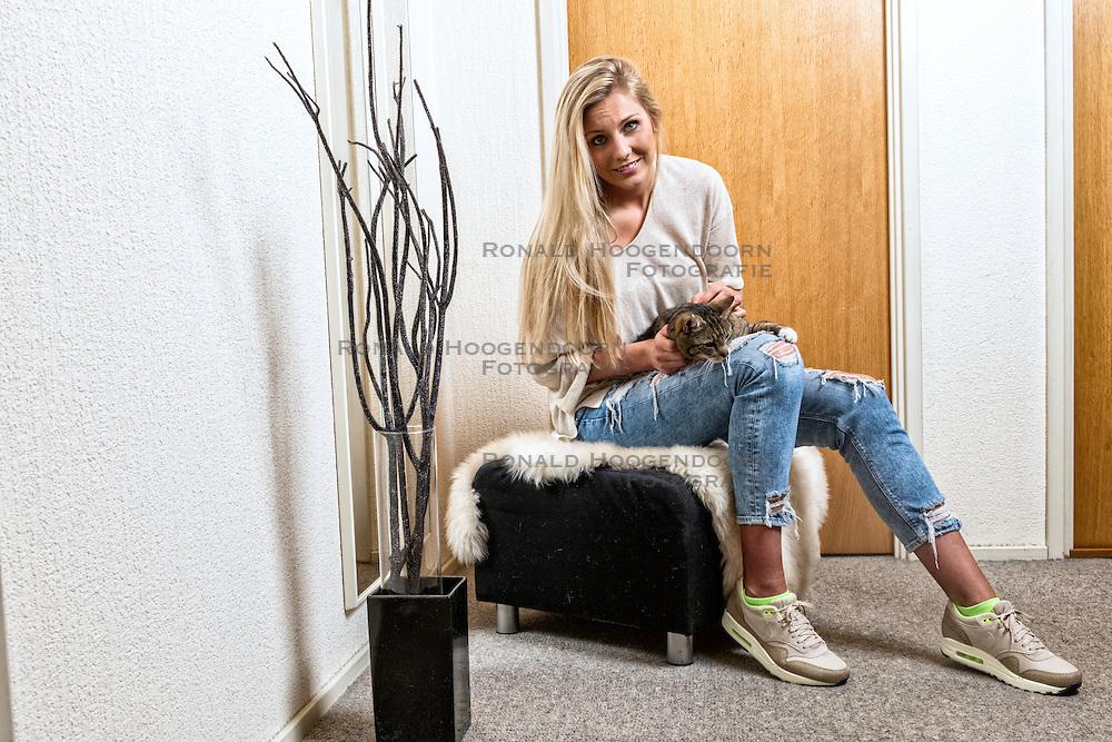 04-05-2016 NED: Portret Laura Dijkema, Beilen<br /> Spelverdeelster Laura Dijkema