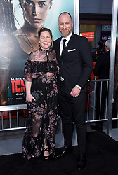"""Alicia Vikander at the U.S. premiere of """"Tomb Raider"""" held at the TCL Chinese Theatre IMAX on March 12, 2018 in Hollywood, CA. 12 Mar 2018 Pictured: Roar Uthaug and Ingrid Uthaug. Photo credit: O'Connor/AFF-USA.com / MEGA TheMegaAgency.com +1 888 505 6342"""