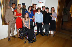 The subjects of Exceptional Youth at the opening of an exhibition entitled Exceptional Youth supported by Teen Vogue at the National Portrait Gallery, London on 3rd November 2006.<br /><br />NON EXCLUSIVE - WORLD RIGHTS