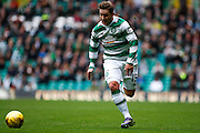 Celtic FC Midfielder Kris Commonson the run during the Ladbrokes Scottish Premiership match between Celtic and Dundee United at Celtic Park, Glasgow, Scotland on 25 October 2015. Photo by Craig McAllister.