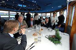 09-12-2006 VOLLEYBAL: CEV OP BEZOEK IN NEDERLAND: ROTTERDAM<br /> De board of Executive Committee CEV waren uitgenodigd door Rotterdam, Rotterdam Topsport en de NeVoBo voor de uitleg van O[peration Restore Confidence / Arjen Boonstoppen Jan Hronek, Hans Zoethoutmaar, Renato Arena en Mak Schriel<br /> ©2006-WWW.FOTOHOOGENDOORN.NL