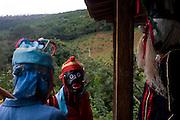Jaboticatubas_MG, Brasil...Grupo de Folia de Reis de Sao Jose da Serra nas casas da comunidade Bom Jardim...The Folia de Reis group of Sao Jose da Serra in the houses in Bom Jardim community...Foto: BRUNO MAGALHAES /  NITRO