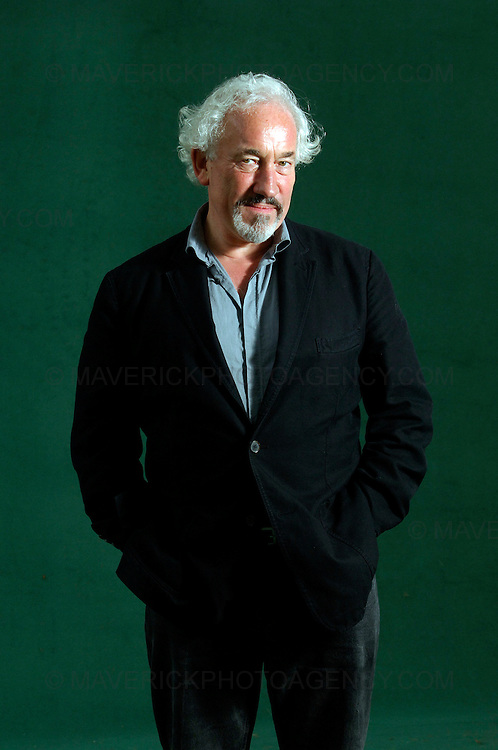 EDINBURGH, UK - 16th August 2010: Author portrait session coverage of The Edinburgh International Book Festival 2010 at Charlotte Square in Edinburgh...Picture shows screen and stage actor Simon Callow...(Photograph: Richard Scott/MAVERICK)