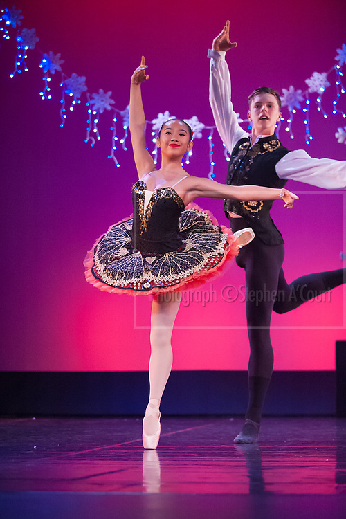 Wellington, NZ. 4.12.2015. Chocolate (Spanish), from the Wellington Dance & Performing Arts Academy end of year stage-show 2015. Big Show, Friday 6.30pm. Photo credit: Stephen A'Court.  COPYRIGHT ©Stephen A'Court