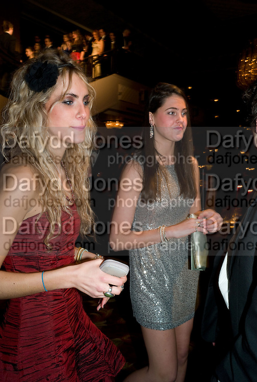 ISABEL AUSTIN-LITTLE; LILY CAMPBELL-LAMPERTON, The 30th White Knights charity  Ball.  Grosvenor House Hotel. Park Lane. London. 10 January 2009 *** Local Caption *** -DO NOT ARCHIVE-© Copyright Photograph by Dafydd Jones. 248 Clapham Rd. London SW9 0PZ. Tel 0207 820 0771. www.dafjones.com.<br /> ISABEL AUSTIN-LITTLE; LILY CAMPBELL-LAMPERTON, The 30th White Knights charity  Ball.  Grosvenor House Hotel. Park Lane. London. 10 January 2009