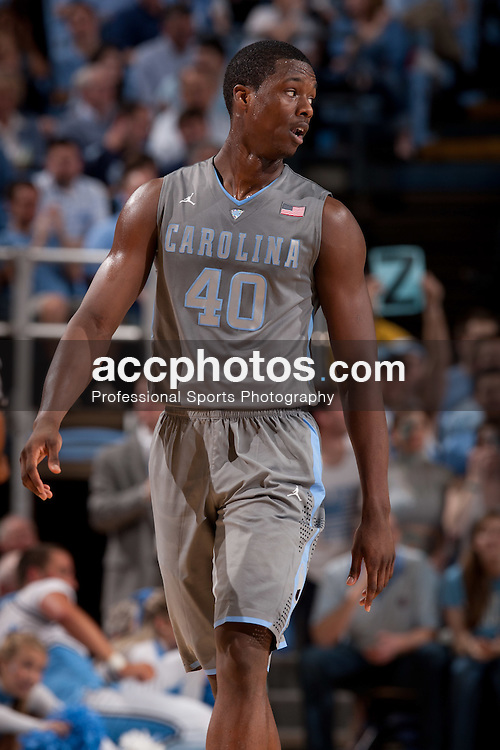 CHAPEL HILL, NC - FEBRUARY 29: Harrison Barnes #40 of the North Carolina Tar Heels walks down the court during a game against the Maryland Terrapins on February 29, 2012 at the Dean E. Smith Center in Chapel Hill, North Carolina. North Carolina won 64-88. (Photo by Peyton Williams/UNC/Getty Images) *** Local Caption *** Harrison Barnes
