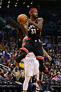 Dec 29, 2016; Phoenix, AZ, USA;  Toronto Raptors forward Terrence Ross (31) looks to make a pass in the first half of the NBA game against the Phoenix Suns at Talking Stick Resort Arena. Mandatory Credit: Jennifer Stewart-USA TODAY Sports