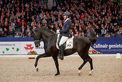 Azur Moises Jover, Imagine<br /> KWPN Stallionshow - 's Hertogenbosch 2018<br /> © Hippo Foto - Dirk Caremans<br /> 02/02/2018