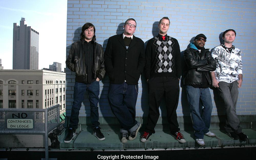 Columbus band Stretch Lefty are (left to right) Tyler Starkey, Matty Jago, John Williamson, Rober Riley Jr., Anthony Fancelli (Jodi Miller/Alive)