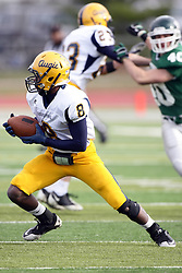 12 November 2011:  Antonio Owens during an NCAA division 3 football game between the Augustana Vikings and the Illinois Wesleyan Titans in Tucci Stadium on Wilder Field, Bloomington IL
