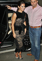LONDON - September 06: Cheryl Cole at Giuseppe Zanotti Designs in Sloane Street (Photo by Brett D. Cove)