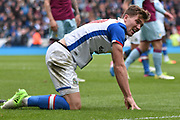 Blackburn Rovers Forward, Sam Gallagher (19)  during the EFL Sky Bet Championship match between Blackburn Rovers and Aston Villa at Ewood Park, Blackburn, England on 29 April 2017. Photo by Mark Pollitt.