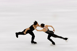 February 15, 2018 - Gangneung, South Korea - Tae Ok Ryom and Ju Sik Kim of People's Republic of Korea compete during the Pairs Figure Skating Free Skating at the PyeongChang 2018 Winter Olympic Games at Gangneung Ice Arena on Thursday February 15, 2018. (Credit Image: © Paul Kitagaki Jr. via ZUMA Wire)