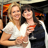 -FREE PICTURE / NO REPRODUCTION FEE-.Pictured enjoying cocktails at the annual Black and White Ball in the Blue Haven Hotel, Kinsale were Rachel Bowles and Lara O'Connor from Kinsale..Pic. John Allen