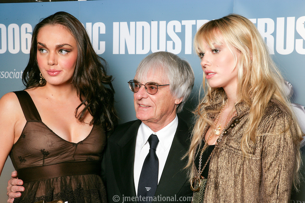 Tamara, Bernie and Petra Ecclestone
