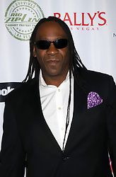 """Booker T arriving for the One Step Closer """"All In For CP"""" celebrity charity poker event held at Ballys Poker Room, Ballys Hotel & Casino, Las Vegas, December 9, 2018"""