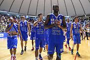 DESCRIZIONE : 5° International Tournament City of Cagliari Dinamo Banco di Sardegna Sassari - Limoges CSP<br /> GIOCATORE : Team Dinamo Sassari<br /> CATEGORIA : Ritratto Delusione Postgame<br /> SQUADRA : Dinamo Banco di Sardegna Sassari<br /> EVENTO : 5° International Tournament City of Cagliari<br /> GARA : Dinamo Banco di Sardegna Sassari - Limoges CSP Torneo Città di Cagliari<br /> DATA : 18/09/2015<br /> SPORT : Pallacanestro <br /> AUTORE : Agenzia Ciamillo-Castoria/L.Canu