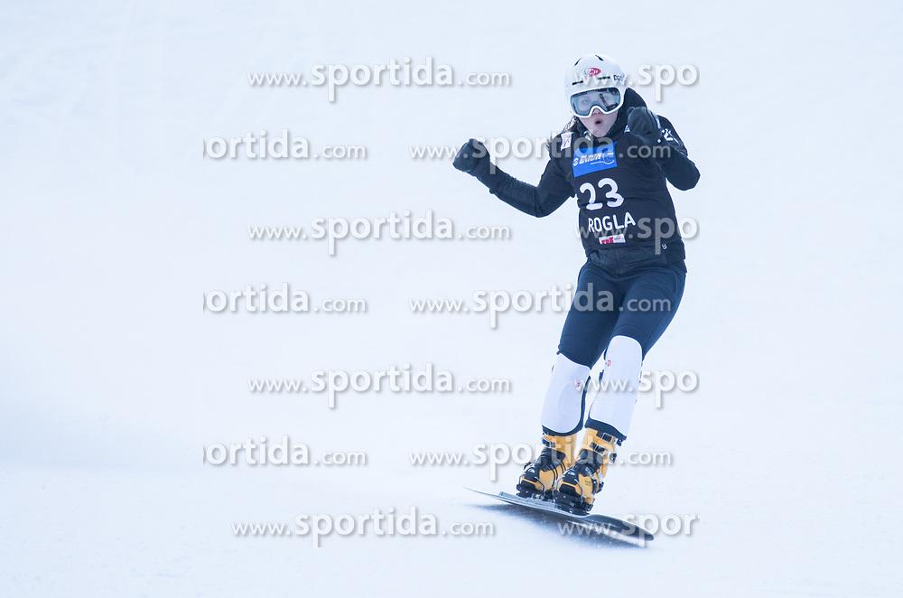 Kotnik Gloria during the FIS snowboarding world cup race in Rogla (SI / SLO) | GS on January 20, 2018, in Jasna Ski slope, Rogla, Slovenia. Photo by Urban Meglic / Sportida
